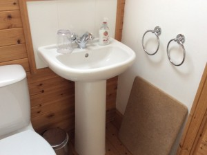 modern bathroom Bed and Breakfast, Anglesey, N Wales