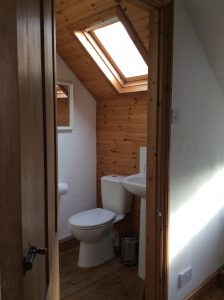 Loft B&B shower room