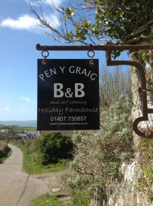 Pen y Graig Church Bay B&B and self catering cottages