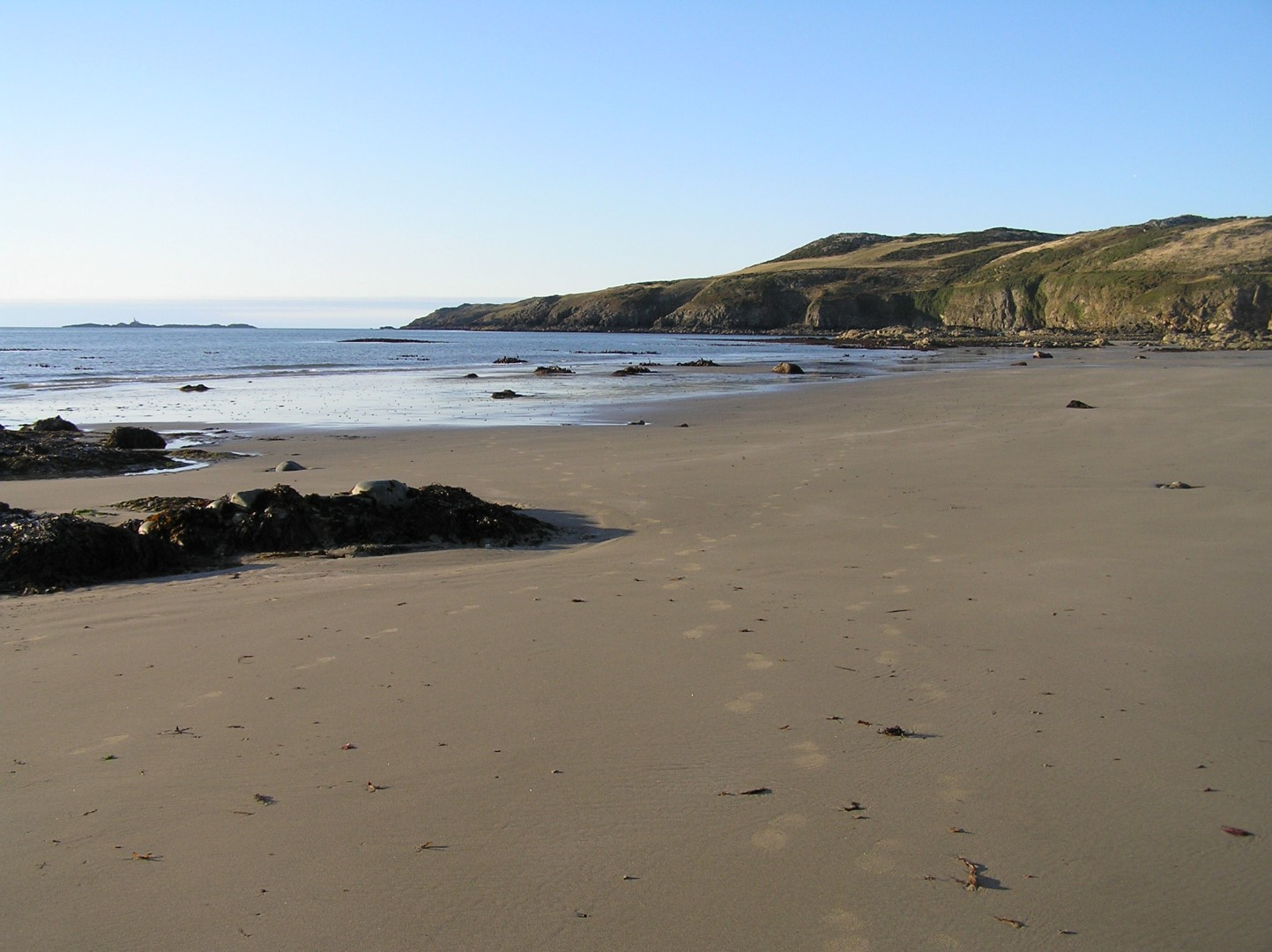 Location Of Pen Y Graig B B And Holiday Cottages Church Bay Anglesey