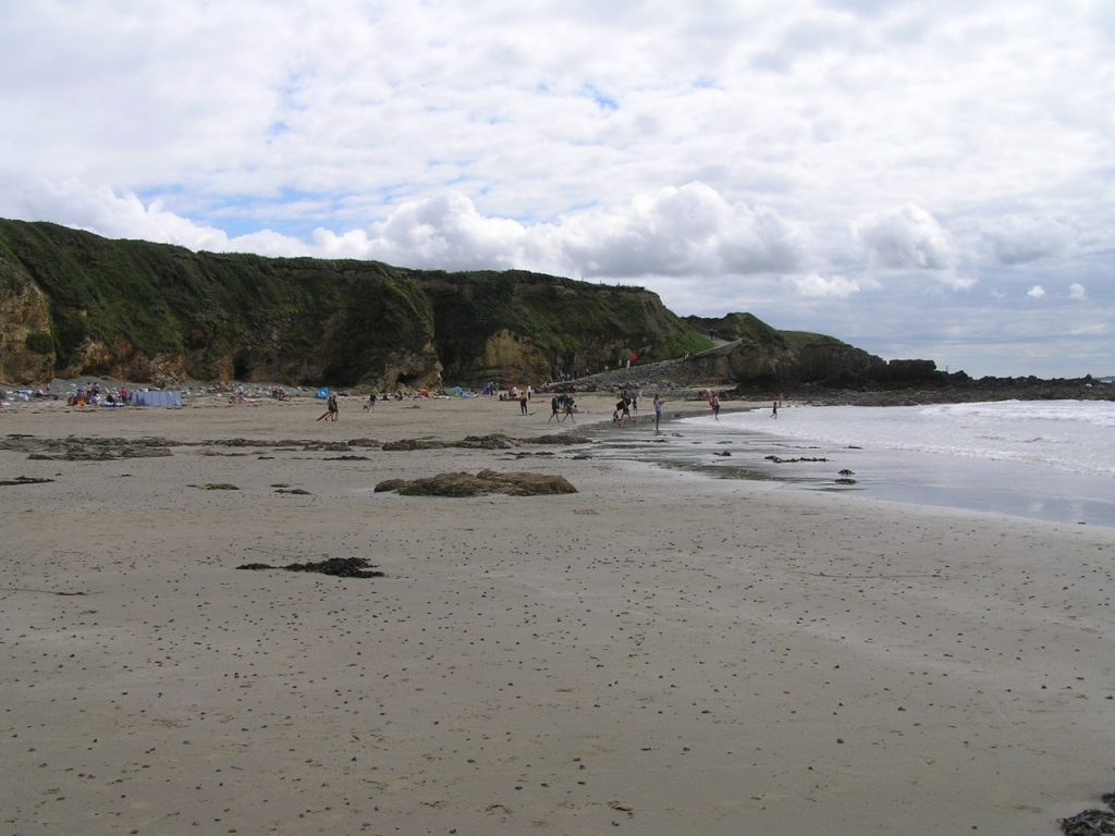 Church Bay beach